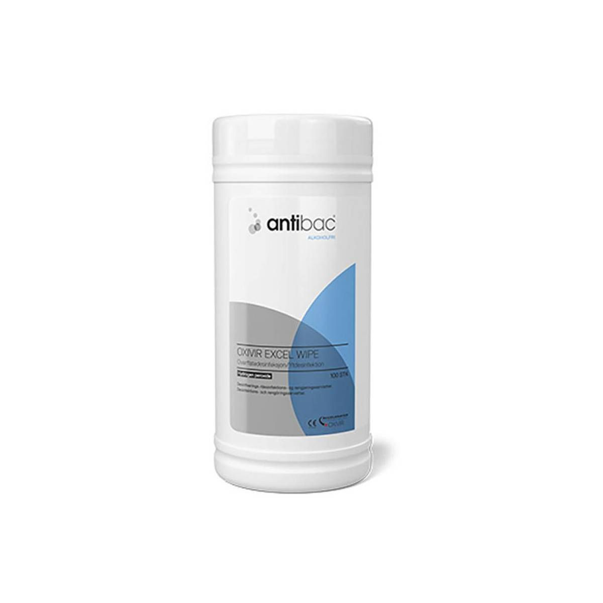 Antibac Alkoholfri Overflatedesinfeksjon wipes (Excel)