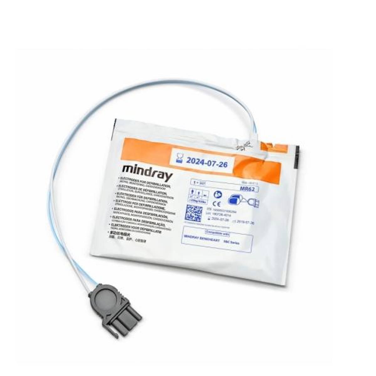 Mindray Beneheart C1/C2 Elektrodesett voksen/barn