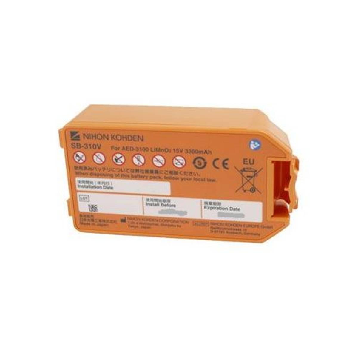 Nihon Kohden Cardiolife AED 3100 batteri